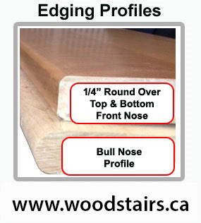 Bullnose Types False Stairs Treads