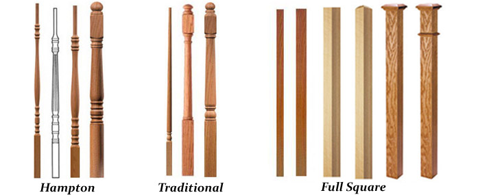 Hardwood Balusters For Stairs U0026 Railings ( We Stock The Most Popular Turned  U0026 Full Square Profiles ):