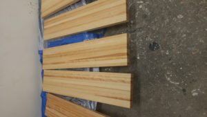"""2"""" thick stringers (approx 10' long) (Wood Stairs Canada)"""