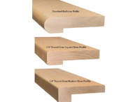nose profiles (Wood Stairs Canada)