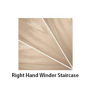 right hand winder staircase shown - a270 (Wood Stairs Canada)