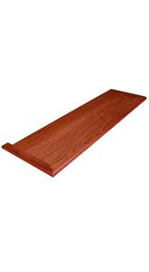 exotic-custom-hardwood-stair-treads (Wood Stairs Canada)