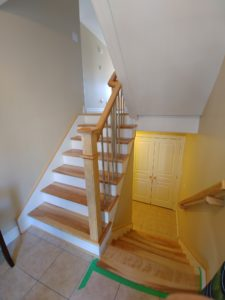 Solid Hardwood Stair Treads (Wood Stairs Canada)