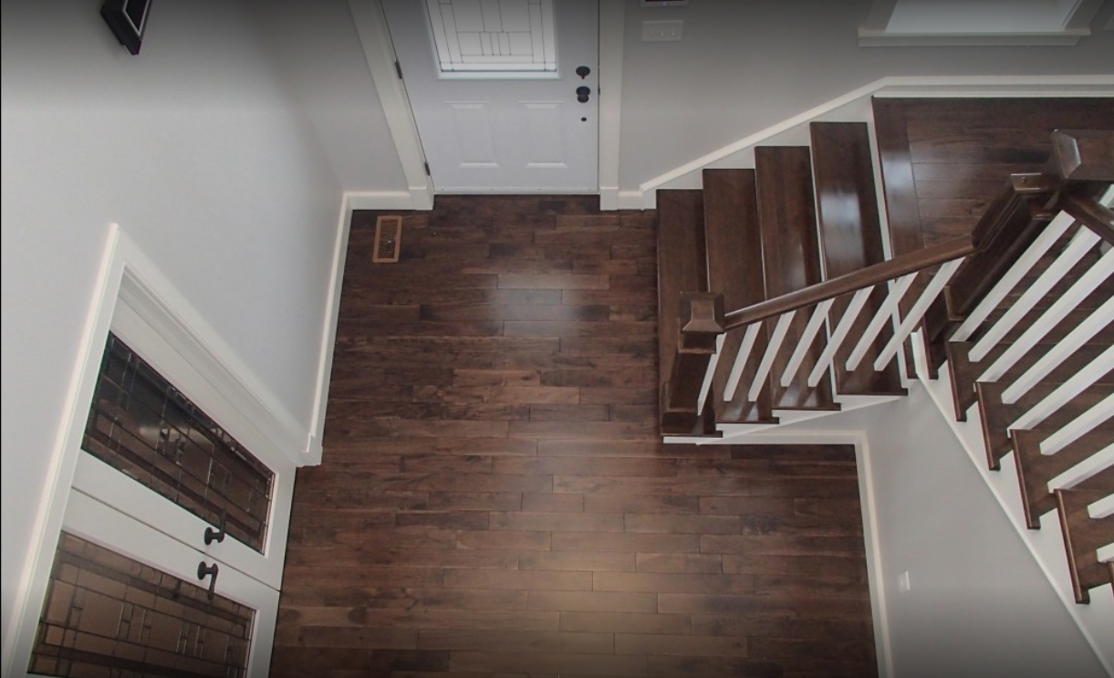 Pre-finished Stair Parts - Spray Booth Finish - Wood ...